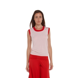 Canottiera in micromodale traspirante.